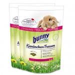 2-x-4-kg-8-kg-Bunny-Kaninchen-Traum-Young-fr-Zwergkaninchen-bis-6-Monate-0