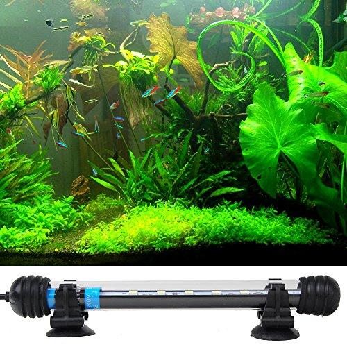 aquarium fische tank beleuchtung 19cm 6 led 5050 smd weiss licht bar wasserdicht fuer aquarien