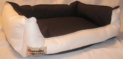 hundebett hundesofa schlafplatz bella 90 cm x 70 cm beige braun haustier kaufenhaustier kaufen. Black Bedroom Furniture Sets. Home Design Ideas