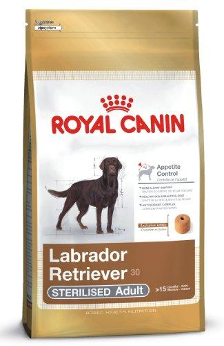 royal canin hundefutter labrador retriever sterilised 12 kg 1er pack 1 x 12 kg haustier. Black Bedroom Furniture Sets. Home Design Ideas