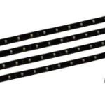 4x30-cm-Wei-Weiss-LED-Streifen-mit-Verbindungsstecker-Deko-Beleuchtung-TV-Hintergrund-Kche-Aquarium-Terrarium-Regal-NEU-0