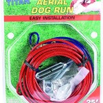 Coastal-Pet-Titan-Aerial-Dog-Run-Cable-Trolley-Galvanized-Weather-Resistant-25ft-0