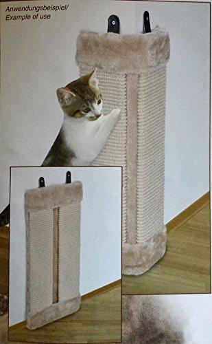 katzen kratzbrett kratzmatte kratzecke sisal katze kratz eck brett ecke 23x50cm haustier. Black Bedroom Furniture Sets. Home Design Ideas