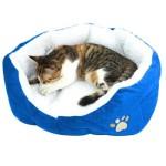Yahee365-Hundebett-Hundekissen-Hundesofa-Katzenbett-Tierbett-in-3-Farben-Blue-0