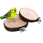 Vogel-SpielzeugDairyshop-Haustier-Vogel-Papagei-Kauen-Spielzeug-Holz-Hngen-Schwingen-Birdcage-Parakeet-Cockatiel-Kfige-0