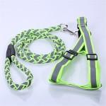 DESESHENME-Pet-Reflektierende-Polyester-Harness-Leine-Groe-Hund-Nylon-Walking-Hundeleine-Outdoor-Security-Training-Hund-Traktion-Grtel-15-120-22-40-60-cm-grn-0