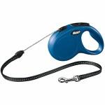 flexi-Roll-Leine-New-Classic-S-Seil-5-m-blau-fr-Hunde-bis-max-12-kg-0