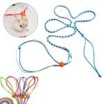 ueetek-Geschirr-verstellbar-Hamster-Leash-and-Collar-Walking-Lead-fr-Hamster-cricetulu-Mouse-Mouse-Squirrel-Kleintiere-Flexible-Handle-Rope-2-m-zufllige-Farbe-0