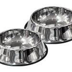 Scarlet-pet-Hundenapf-Bowl-mit-Rutschsicherung-Hundeschale-Hundeschssel-Hund-Katze-Napf-Edestahl-1Stck-2-Stck-18cm-22cm-26cm-30cm-2-18cm-0