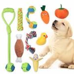 BabyGift-Welpenspielzeug-eine-Kombination-aus-Fruchtigem-Gemse-und-Hundeseilspielzeug-10-Teiliges-Set-Plsch-Hunde-Pielzeug-das-als-Hundegeschenk-Verwendet-Werden-Kann-0