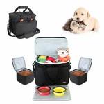 Luxja-Reisetasche-fr-Hundeausrstung-Transporttaschen-fr-Hunde-Hundetransportbox-fr-die-Mitnahme-von-Tiernahrung-Leckereien-und-Spielzeug-Ideal-fr-Hundeerziehung-und-Unterwegs-mit-dem-Hund-0
