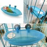 Vogel-Badewanne-fr-Papageien-Vogelkfig-Zubehr-Vogelspiegel-Badewanne-Duschbox-0